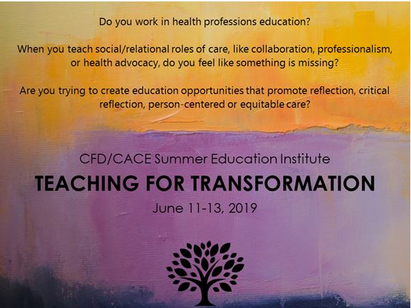 Summer Education Institute - Teaching for Transformation (Jun 11-13, 2019)